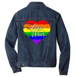 Love Wins One Pulse Orlando Strong Men Denim Jacket | Artistshot