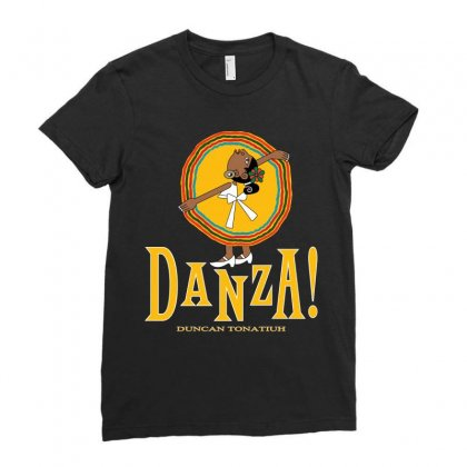 Danza Duncan Tonatiuh Ballet Ladies Fitted T-shirt Designed By Garnisflok
