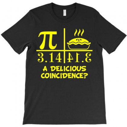 A Delicious Coincidence (yellow) T-shirt Designed By Blue
