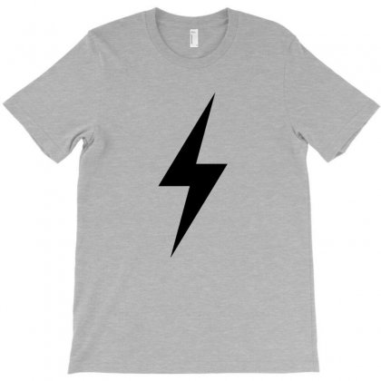 Lightning Bolt T-shirt Designed By Noir Est Conception
