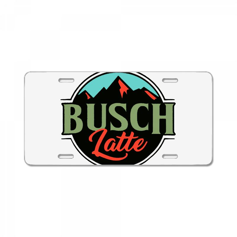 Vintage Busch Light Busch Latte License Plate | Artistshot