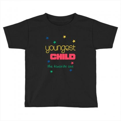 Youngest Child The Favorite Toddler T-shirt Designed By Vanode Art