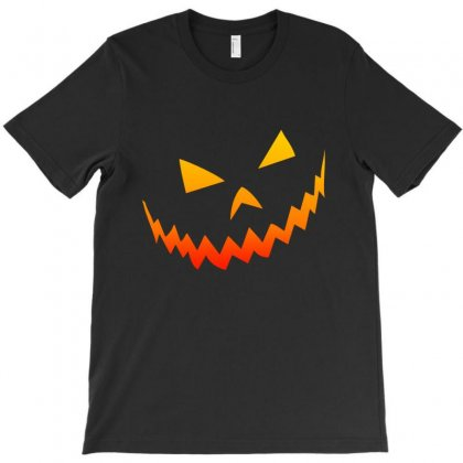 Halloween Smile T-shirt Designed By Bertaria