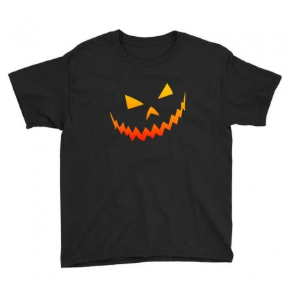 Halloween Smile Youth Tee Designed By Bertaria