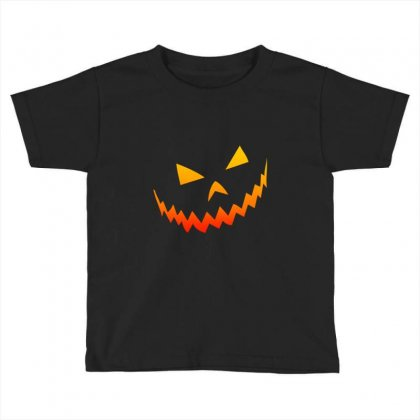 Halloween Smile Toddler T-shirt Designed By Bertaria
