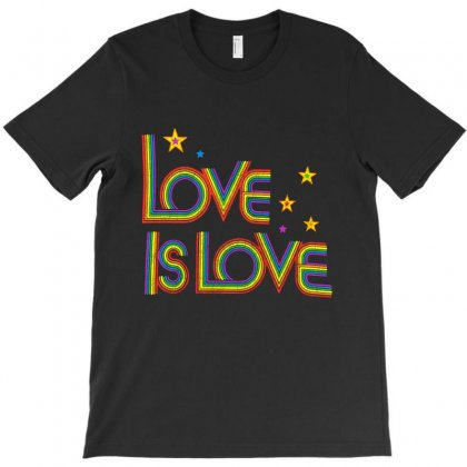 Love Is Love T-shirt Designed By Frizidan