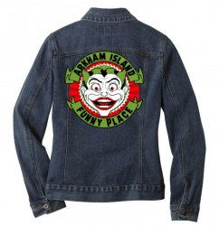 funny place Ladies Denim Jacket | Artistshot