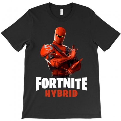 Fortnite Hybrid T-shirt Designed By Toweroflandrose