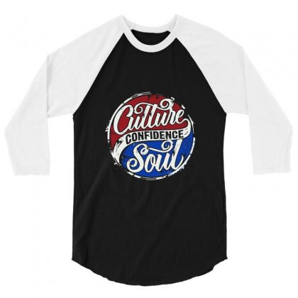 Culture Confidence 3/4 Sleeve Shirt Designed By Bertaria