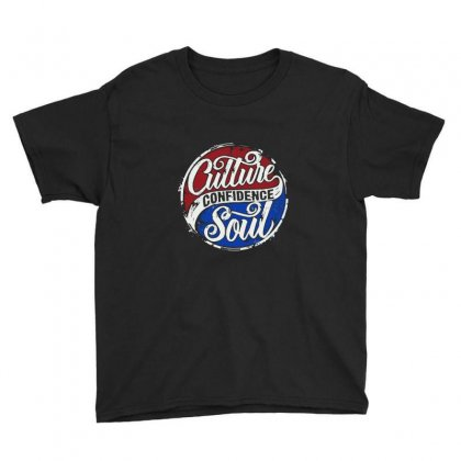 Culture Confidence Youth Tee Designed By Bertaria