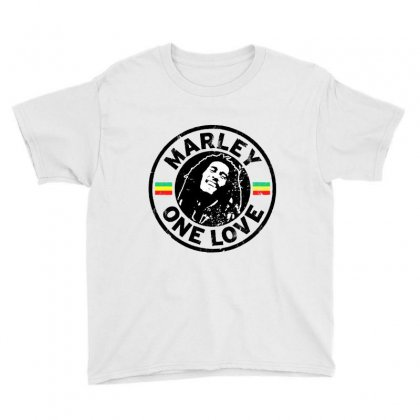 Bob Marley Youth Tee Designed By Frizidan