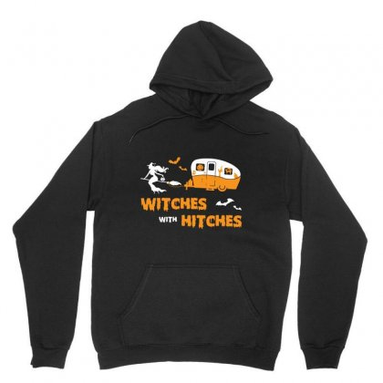 Witches With Hitches Unisex Hoodie Designed By Bertaria
