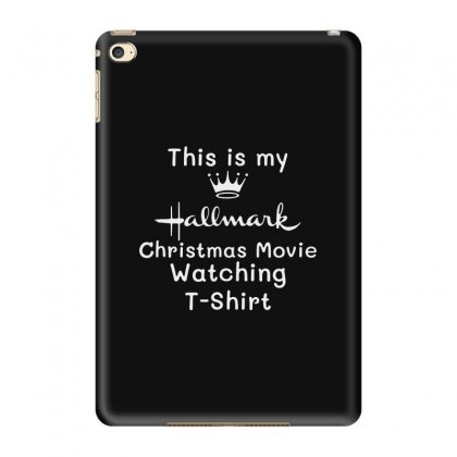 This Is My Hallmark Chirtmas Movie Watching Ipad Mini 4 Case Designed By Bertaria
