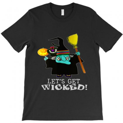 Let's Get Wicked T-shirt Designed By Bertaria
