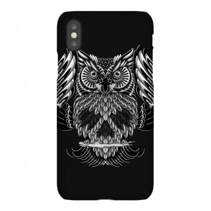 Owl Skull Ornate Iphonex Case Designed By Quilimo