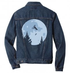 funny et moon bmx Men Denim Jacket | Artistshot