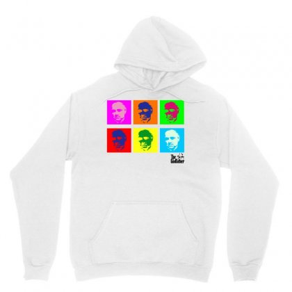 The Godfather Popart For Light Unisex Hoodie Designed By Sengul