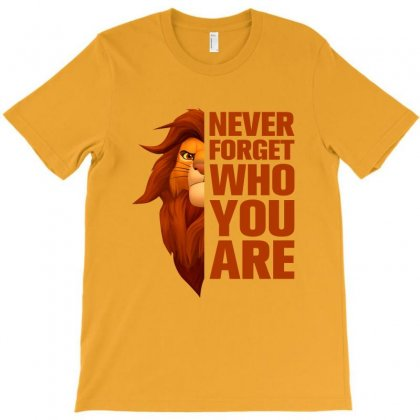 Never Forget Who You Are For Light T-shirt Designed By Nurbetulk