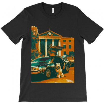 Einstein Back To The Future T-shirt Designed By Sengul