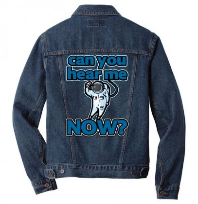 Can You Hear Me Now Men Denim Jacket Designed By Gematees
