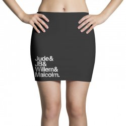 a little life book typography Mini Skirts | Artistshot