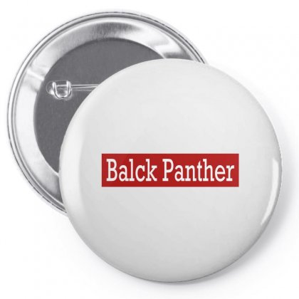 Black Panther Pin-back Button Designed By Bertaria