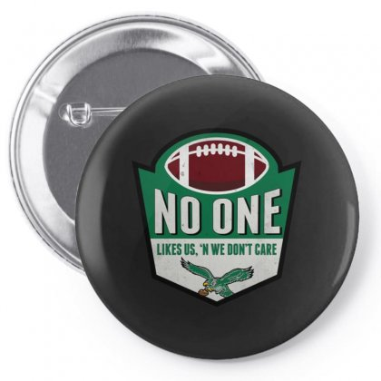 No One Likes Us Bird Gang Pin-back Button Designed By Bertaria
