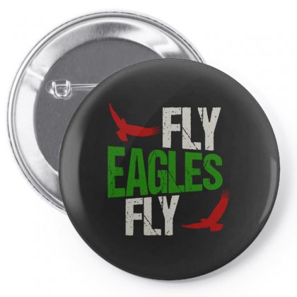 Fly Eagles Fly Pin-back Button Designed By Bertaria