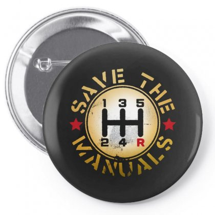 Save The Manuals Pin-back Button Designed By Bertaria