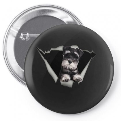 Cute Dog And Turquoise Pin-back Button Designed By Bertaria