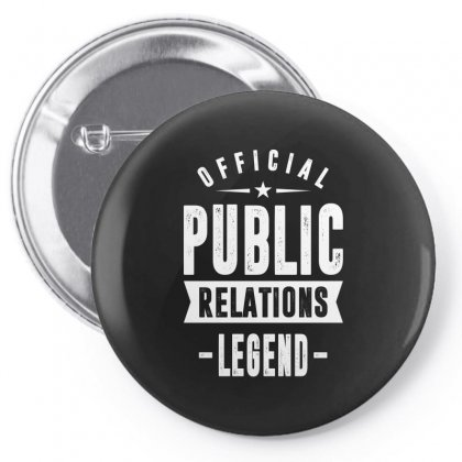 Public Relations Pin-back Button Designed By Cidolopez