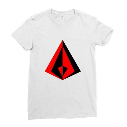 Sacred Geometry Ladies Fitted T-shirt Designed By Seniha