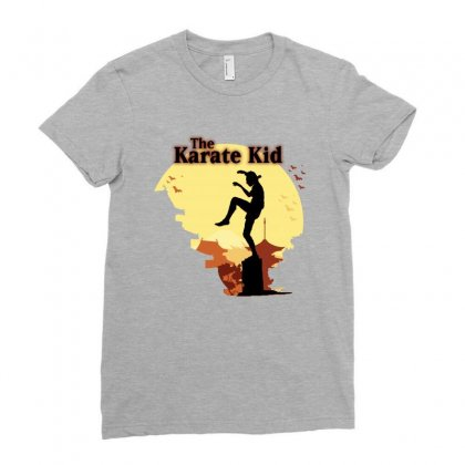 The Karate Kid Ladies Fitted T-shirt Designed By Sengul