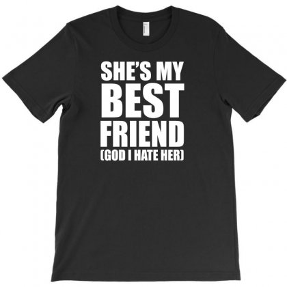 Womens She's My Best Friend Heathers T-shirt Designed By Omer Acar