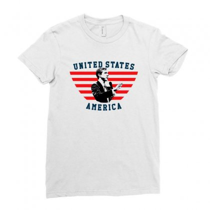 United States America Beto Ladies Fitted T-shirt Designed By Sengul