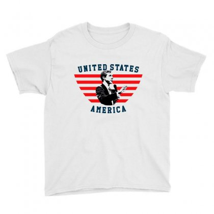 United States America Beto Youth Tee Designed By Sengul