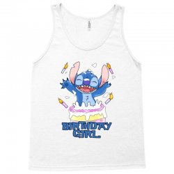 stitch birthday girl Tank Top | Artistshot