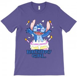 stitch birthday girl T-Shirt | Artistshot