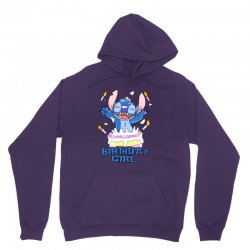 stitch birthday girl Unisex Hoodie | Artistshot