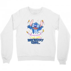 stitch birthday girl Crewneck Sweatshirt | Artistshot