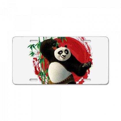 Kung Fu Panda License Plate