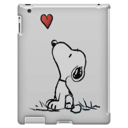Snoopy Love Ipad 3 And 4 Case Designed By Salmanaz