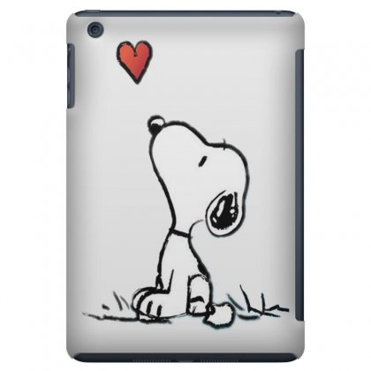 Snoopy Love Ipad Mini Case Designed By Salmanaz