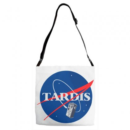 Tardis Doctor Who Parody Adjustable Strap Totes Designed By Salmanaz