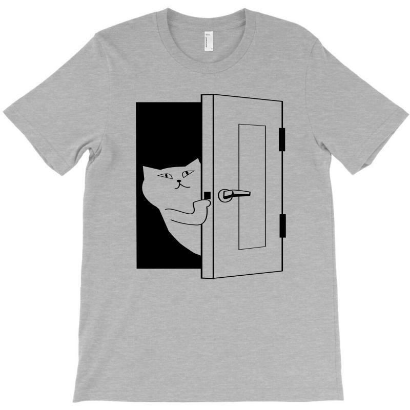 e9306c9c3a9 Custom Door Peep Beginning T-shirt By Salmanaz - Artistshot
