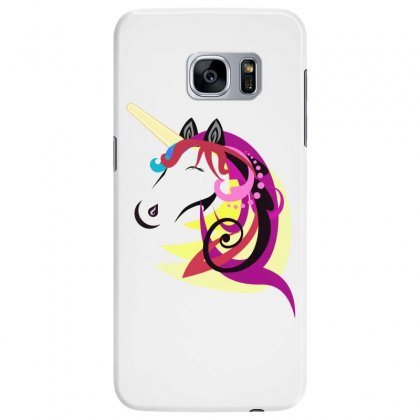 Unicorn Horse Cartoon Design Cute Samsung Galaxy S7 Edge Case Designed By Salmanaz