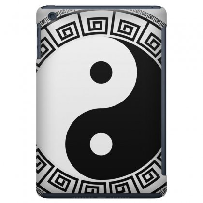 Yin Yang Eastern Asian Philosophy Ipad Mini Case Designed By Salmanaz