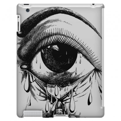 Allergy Art Crying Drawing Eye Ipad 3 And 4 Case Designed By Salmanaz