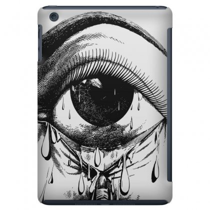 Allergy Art Crying Drawing Eye Ipad Mini Case Designed By Salmanaz