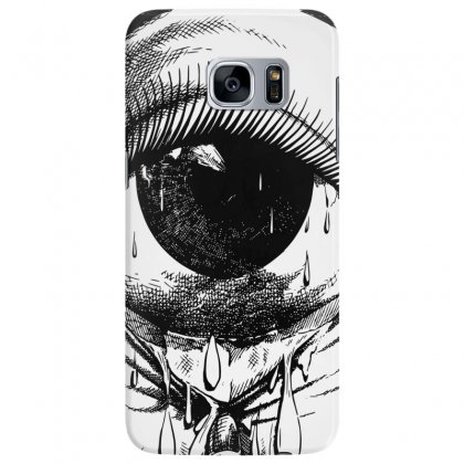Allergy Art Crying Drawing Eye Samsung Galaxy S7 Edge Case Designed By Salmanaz